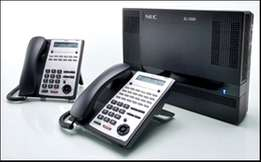 PABX NEC SL100 Telephone System for sale