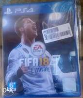 FIFA 18 PS4 (Brand New)