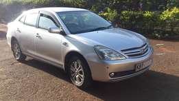 Toyota Allion Silver KBY Asking Ksh 670,000