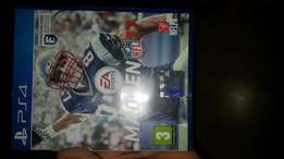 Madden NFL17 ps4 game to trade