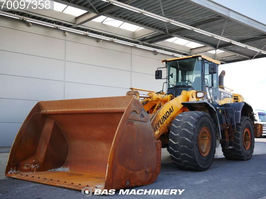 Hyundai HL770 9-A XTD High tip bucket - 2015