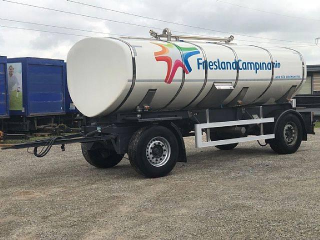 HLW Lebensmittel - Milch Tankanh, isoliert TOP - 2015