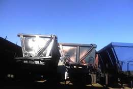 neat side tipper trailers up for sale its a special this december