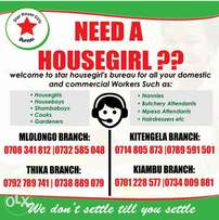 We Offer qualified House girls