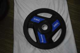 I am selling 10kg rubber weight plate