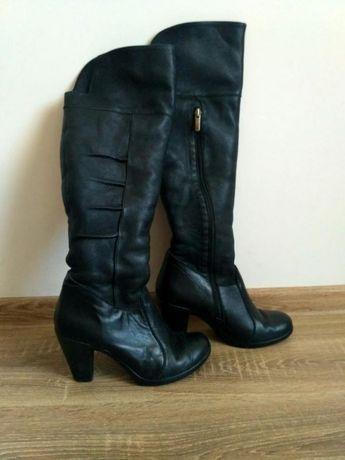 fdb1ad193ec79b Сапоги ботинки ботфорты зимние зима кожа кожаный sale чоботи чобітки Киев -  изображение 1