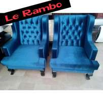 Papa Sofa Seats/Chairs 290,000/- $85 Each In Any Plain Colours