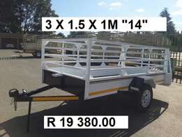 3/1.5.1m Brand new single Trailers for sale, Papers incl