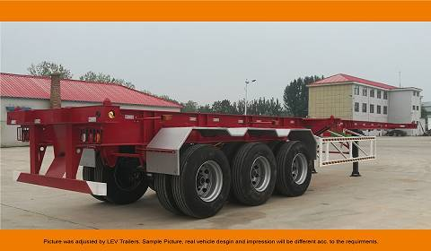 CIMC 3 Axle Container Chassis - 2018