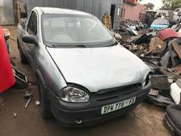 OPEL CORSA UTILITY 1.4i .stripping for spares