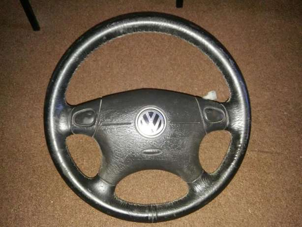 VW Passat MK4 steering wheel with airbag for sale Kuils River - image 1