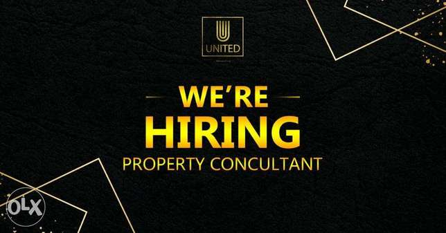 "We Are HIRING ""Property Consultant & Marketing Specialist"""