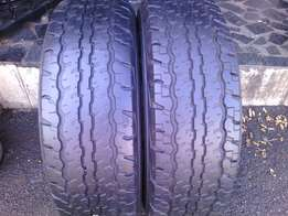 235/70/R16 on special each of the tyres is R700