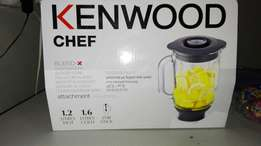 Kenwood Chef glass blender attachment brand new.