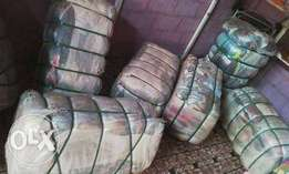Bales of Clothes,Bags,Shoe for sale