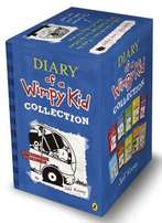 Brand New Diary of a Wimpy Kid 10 Books Collection