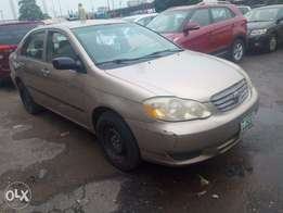 toyota corolla 2004 model forsale at a cheap price
