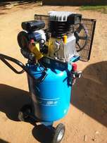 Compressor 100 litre Vertical space saver, Spray painting - Like new