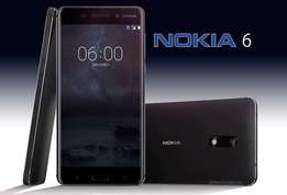 Nokia 6 sealed 28499/- free glass protector 1yr warranty