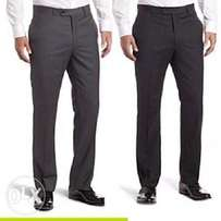 2n1 Men's Executive suit trousers- black and grey