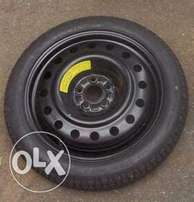 Good Year Tubeless Spare Tyre with Rim