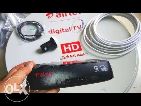 Airtel receiver one month package full HD