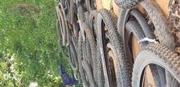 Used Bicycle tyres