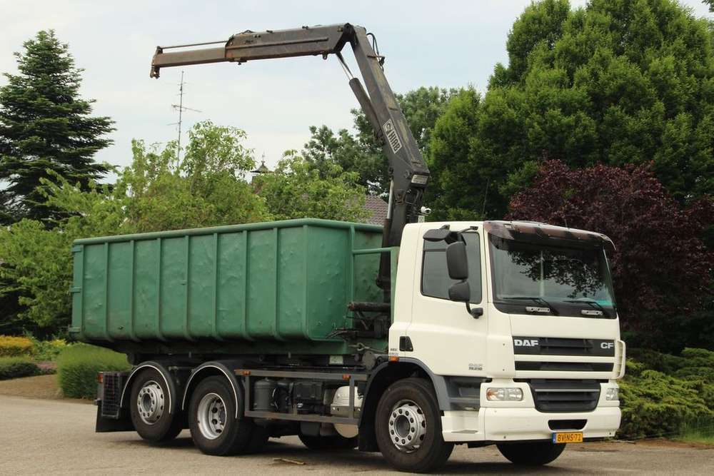 DAF Cf 75/310 Fan Kraancontainer/kabelsysteem!!+losse Container - 2008