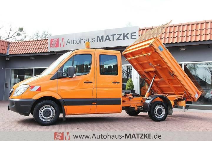 Mercedes-Benz 313CDI Doka Drei-Seiten-Kipper Meiller 1.Hand - 2007