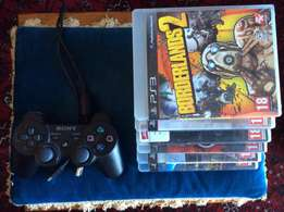 PS3 Controller AND 6 games