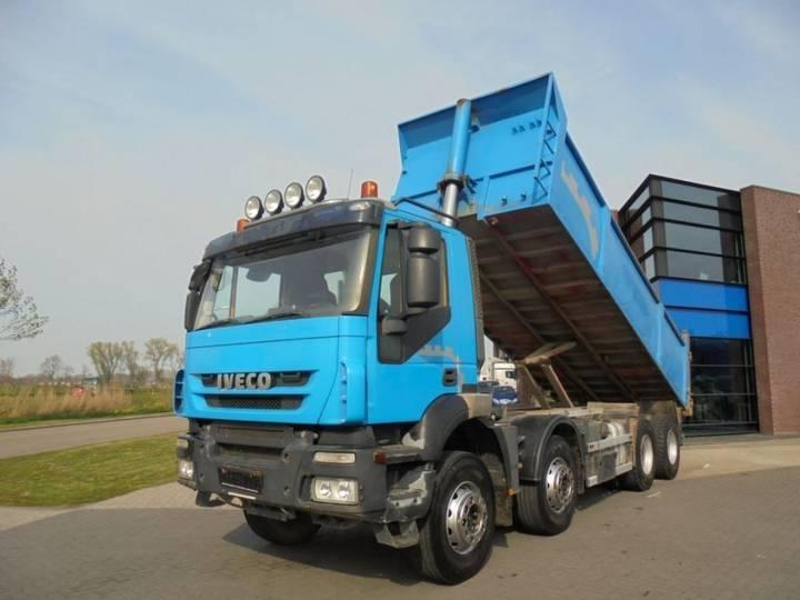 Iveco Trakker 450 / 8x4 / Retarder / Full Steel / 22M3 - 2008