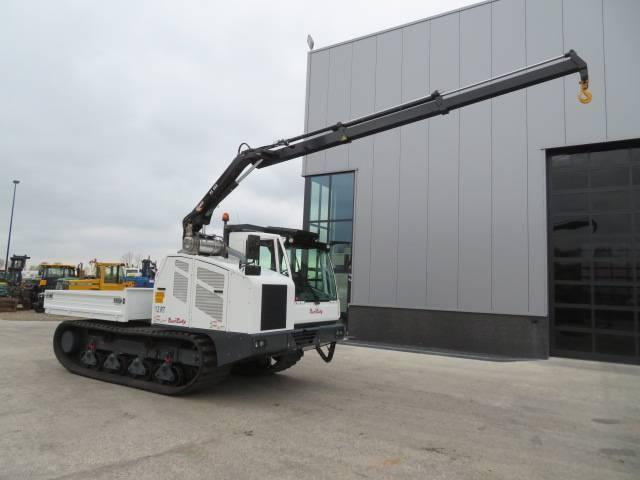 Bergmann 4010 T With Hiab Load Crane - 2016