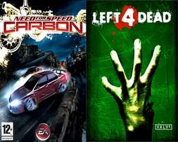 Xbox 360 Games: Need For Speed Carbon, Left 4 Dead & HALO 2