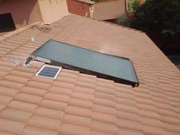 Convert electric geyser to solar and save