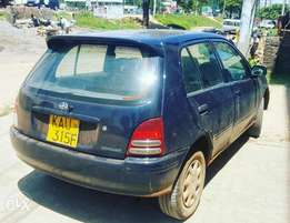 Missionary Mzungu Owned Toyota Starlet in Diani