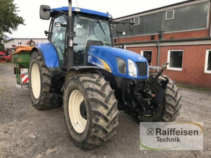 New Holland t6080 rc - 2010