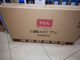 48 inch TCL smart tv