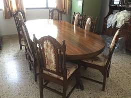 Dining Table mvuli wood