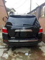 2013 Tokunbo Toyota Highlander Lagos cleared
