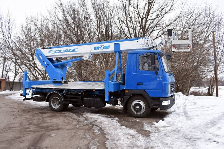 Socage New  T328 na shassi MAZ-4371N2 bucket truck - 2019