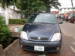 Renault scenic blue color
