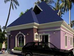 450 sqm 3 bedroom bungalow pyakassa airport road Abuja