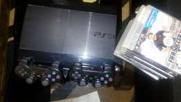PS3 gaming CONSOLE + 10 games - 14000