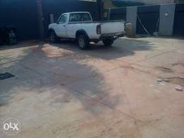 Bakkie for hire with trailer