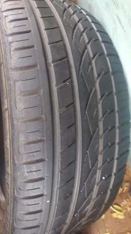 Two genuine 70% Tread 245/45/20 Continental Cross Contact UHP Tyres fi Johannesburg - image 2