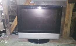 "15"" LCD tv with inbuilt DVD working perfect and"