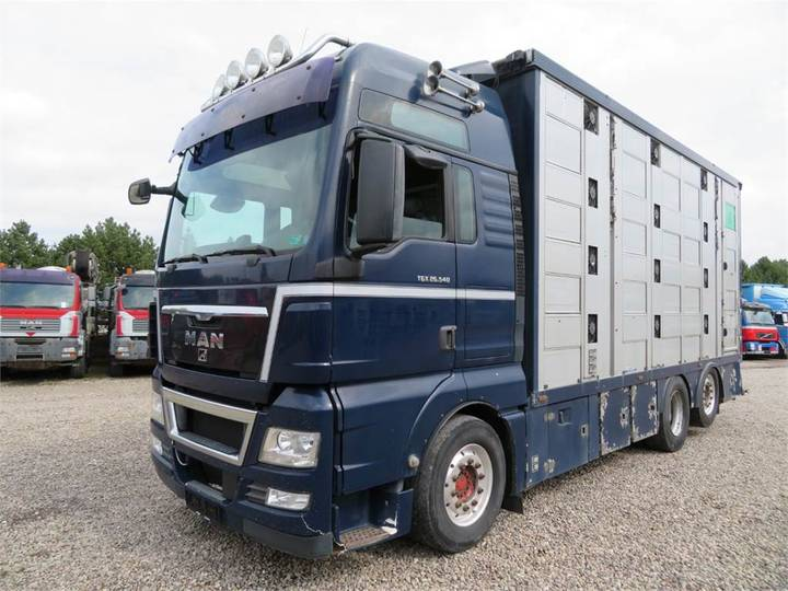 MAN Tgx 26.540 6x2*4 Menke 4 Stock - 2009