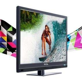 TCL Digital LED TV black 24 inch Brand New with Warranty Market - image 1