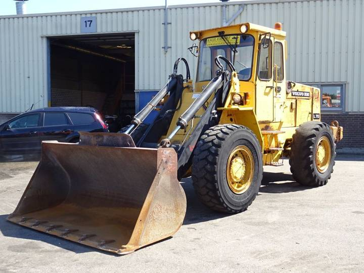 Volvo L70 Wheel Loader 4x4 First owner 13.397h only Top Condition - 1989