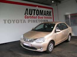 Be Amazed by this 2016 TOYOTA ETIOS 1.5 XS/SPRINT